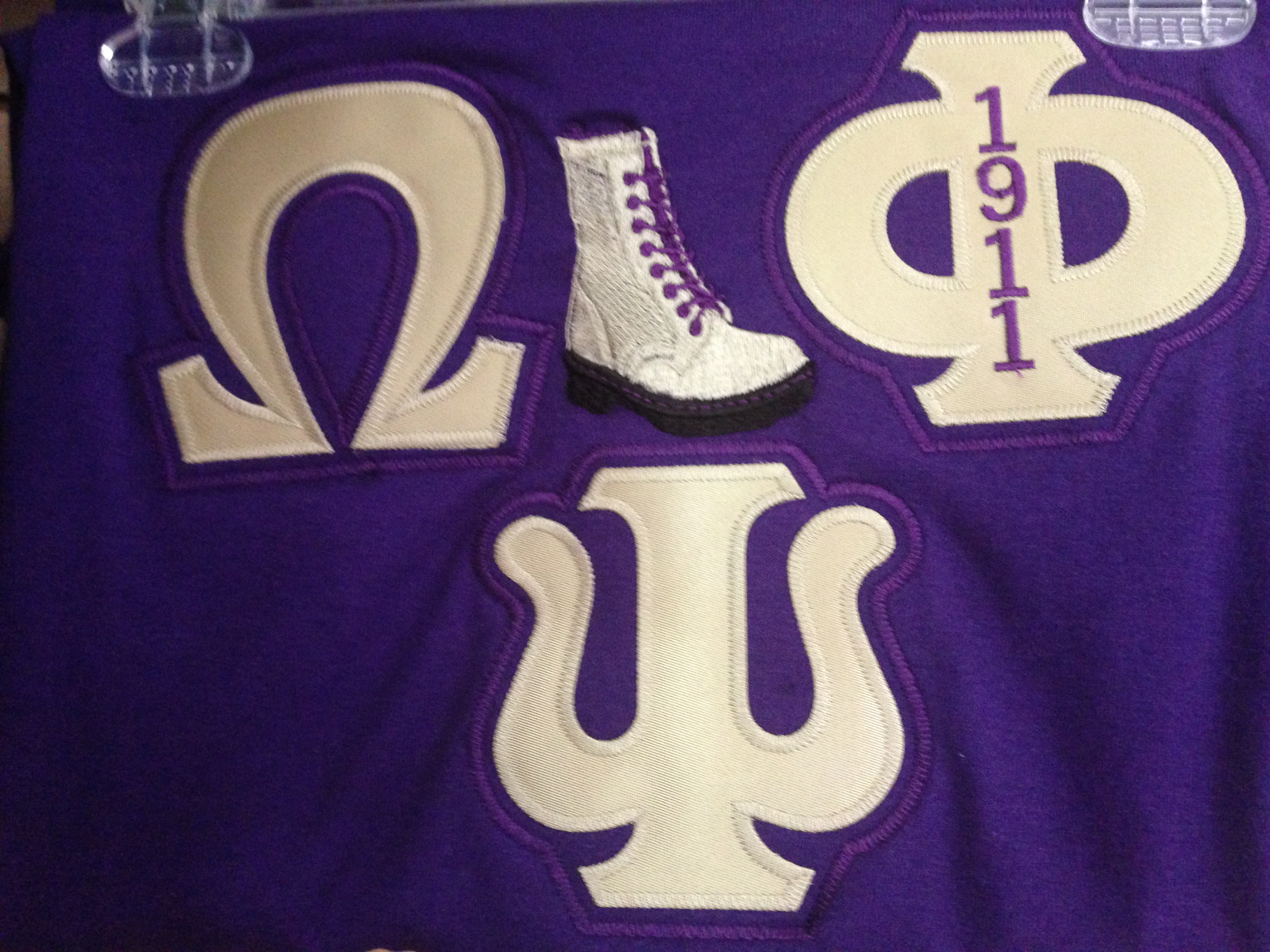 Omega Psi Phi 4 Inch Greek